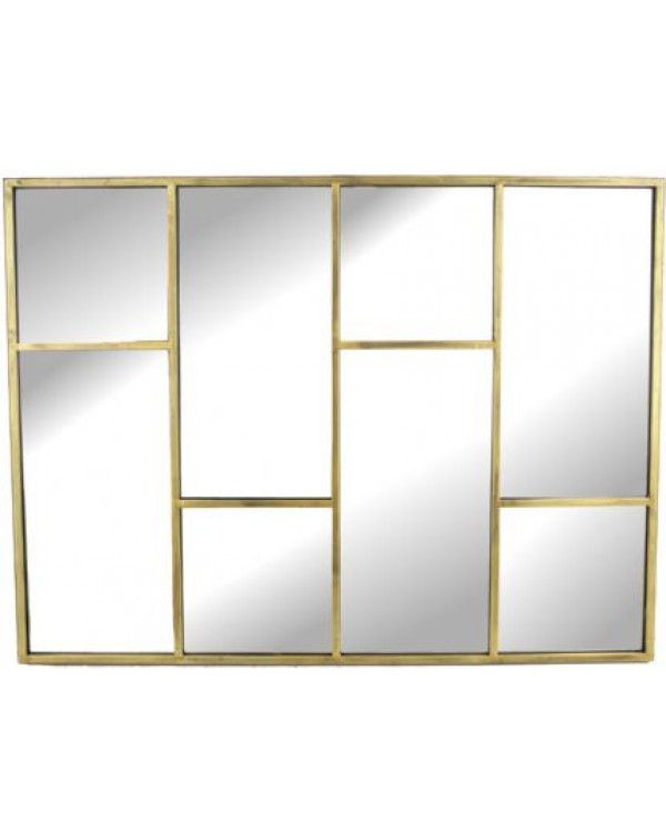 Libra Alanis Rectangle Segmented Mirror